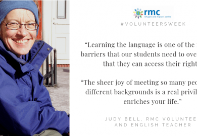 Volunteers Week: Teaching English for a brighter future