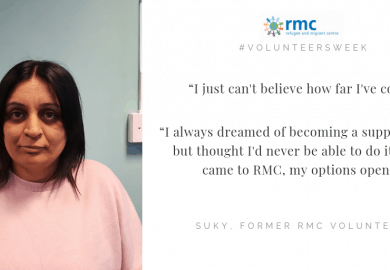 Volunteers Week: Volunteering at RMC to secure my 'dream job'