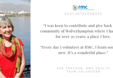 "Volunteers Week: ""Every day I volunteer at RMC, I learn something new. It's a wonderful place."""