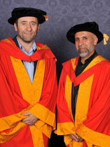 Honorary degree for our founders