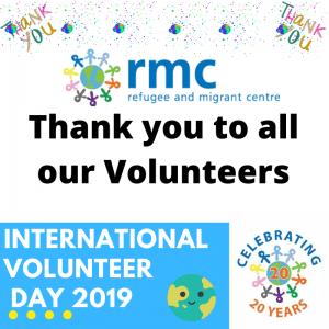 International Volunteer Day 2019