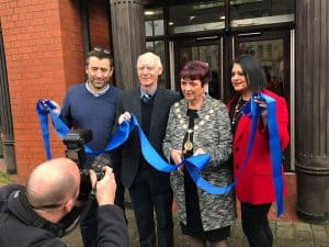 Deputy Mayor of Walsall unveils new RMC Walsall office