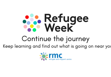 Refugee Week 2020 – Continue the journey