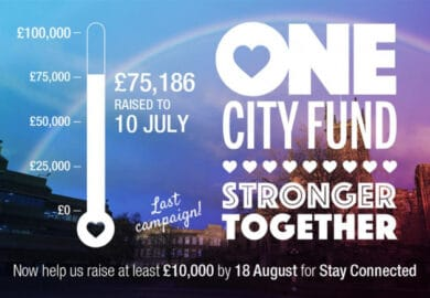 One City: Stay Connected fundraiser