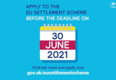 EU Settlement Scheme – One year to go